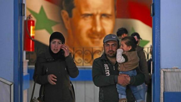 Assads zerstörtes Reich