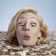 Im Geld schwimmen für die Erziehung eines Kindes?