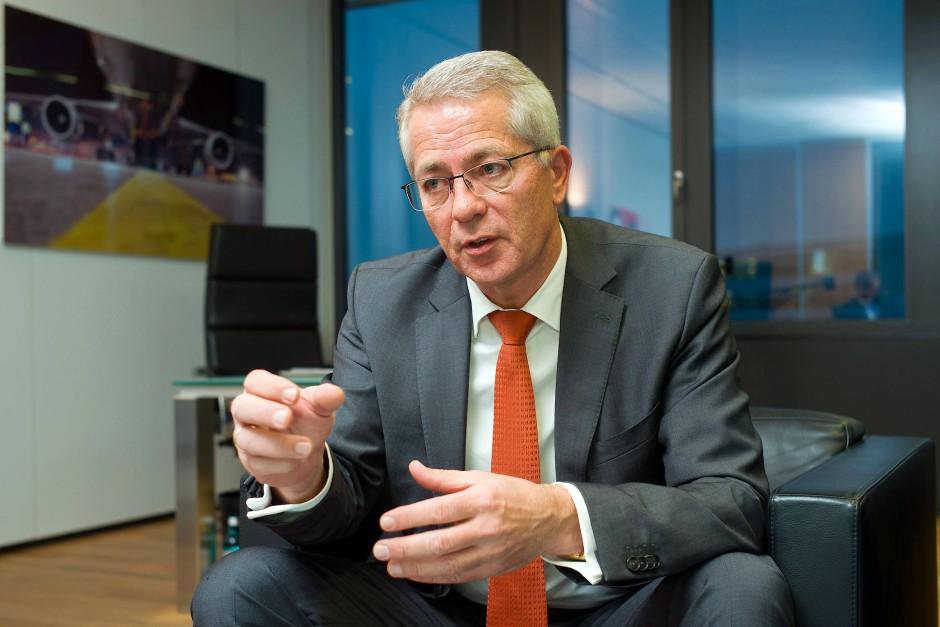 Nachholbedarf im Billigflieger-Segment: Fraport-Chef Stefan Schulte