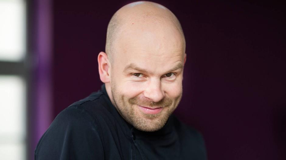 Das Restaurant Elements in Dresden ist sein Reich: Stephan Mießner