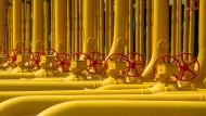 Österreich erhält ein Viertel weniger russisches Gas