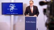 Herausgeber Jürgen Kaube spricht zum Abschluss des F.A.Z.-Kongress