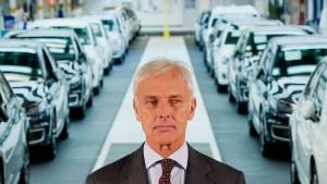 VW-Chef rückt von Diesel-Subventionen ab