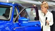 Die Tür zu den Innenstädten soll für Diesel offenbleiben, wenn es nach Angela Merkel geht.