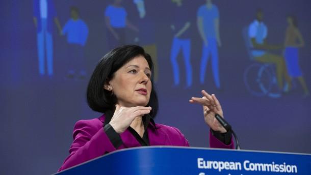 EU-Kommissarin Jourova gegen neue Grenzschließungen