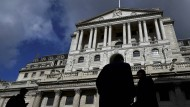 Die negativen Anleiherenditen könnten die Pläne für das Kaufprogramm der Bank of England durchkreuzen.