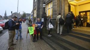 Am Donnerstag wird eine Wahlbeteiligung von fast 100 Prozent erwartet