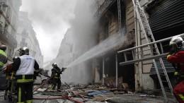 Drei Menschen durch Explosion in Paris getötet
