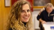 Das Gesicht des Ortsbeirats: die Ortsvorsteherin Tatjana Cyrulnikov