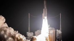 Raumsonde BepiColombo ist erfolgreich gestartet