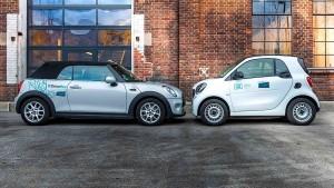 Carsharing fährt gegen die Wand
