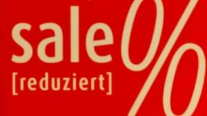 """""""Große Leute haben im Sale Vorteile"""""""