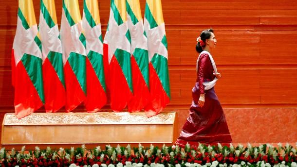 Burma, das geschundene Land