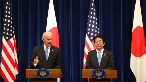 Japan und Amerika wollen Verhältnis intensivieren