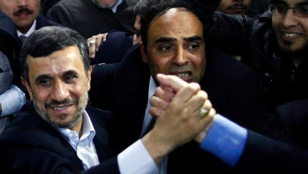 Iranian President Ahmadinejad in Egypt