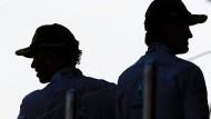 Nico Rosberg (r.) und Lewis Hamilton: Der Durchblicker gegen den Aufbrauser