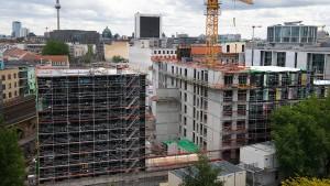 Das Regierungsviertel wird immer größer