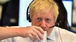 Boris Johnson ist nervös
