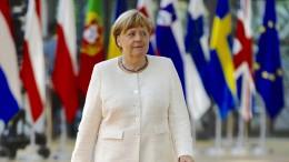 Merkel fordert Kompromisse von allen Kollegen