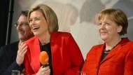 Elf Mal war Angela Merkel in Rheinland-Pfalz, um Julia Klöckner im Wahlkampf zu unterstützen.