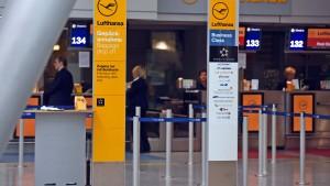 Streik bei der Lufthansa trifft zehntausende Fluggäste