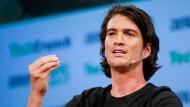 Bis vor ein paar Wochen galt seine Macht in dem Unternehmen als sicher: Wework-Mitgründer Adam Neumann