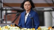 "Taiwans Präsidentin: Bedrohung durch China ""nimmt jeden Tag zu"""