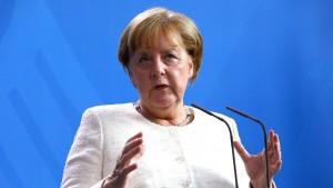 Merkel fordert europäische Aufholjagd bei Batterieproduktion