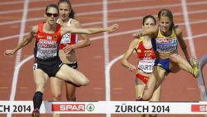 Antje Möldner-Schmidt meistert alle Hindernisse