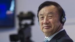 Jetzt teilt der Huawei-Gründer aus