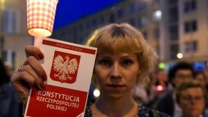 Rechtliche Zusammenarbeit mit Polen in Gefahr