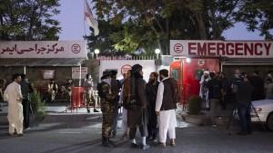 Gefechte in Kabul nach Anschlag auf Trauerfeier
