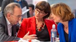 Wie hält's die SPD mit der Groko?