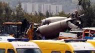 Militärmaschine abgestürzt