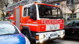 Jugendliche machen Ausflug mit gestohlenem Feuerwehrauto