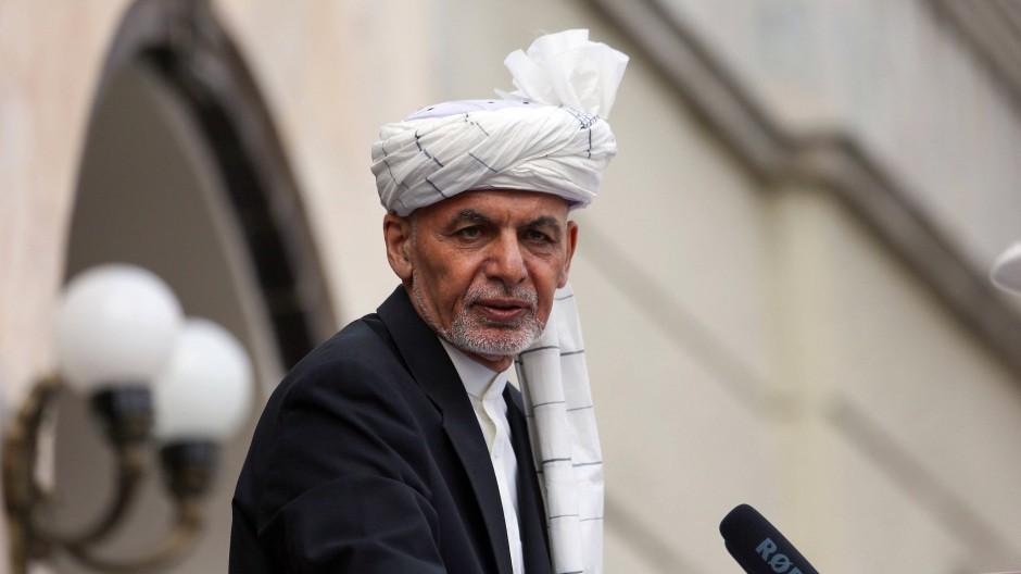 Afghanistans Präsident Aschraf Ghani