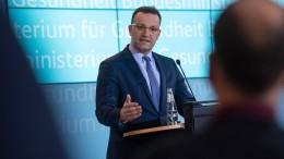 """""""Beginn einer Coronavirus-Epidemie in Deutschland"""""""