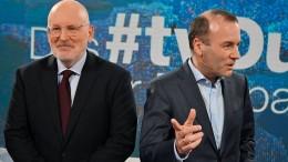 Sozialdemokrat Timmermans will Kurzstreckenflüge abschaffen