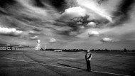 Testfeld der algorithmischen Vernunft: der Berliner Flughafen Tempelhof anlässlich seiner Schließung im vergangenen Jahr