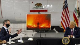 """Für Biden ist Trump ein """"Klima-Brandstifter"""""""