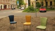 Platz für Lebenskünstler gibt es in Leipzig mehr als genug. Die Stadtkarawane zeigt Besuchern, wo.