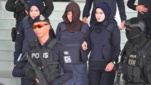 Angeklagte in Kim-Prozess überraschend frei