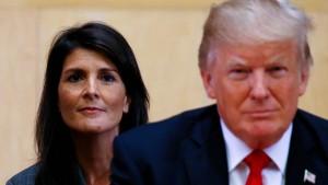 Haley: Trump-Anklägerinnen sollte zugehört werden