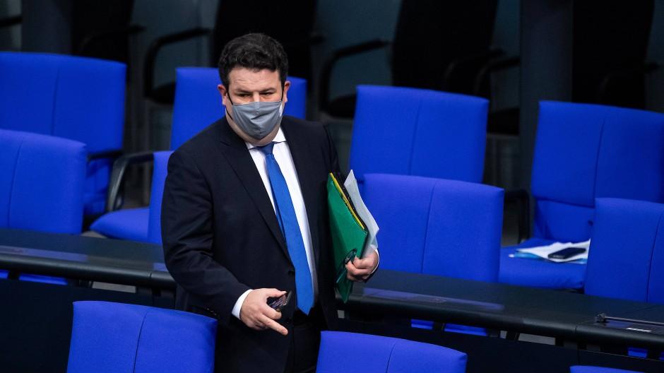 Hubertus Heil (SPD), Bundesminister für Arbeit und Soziales