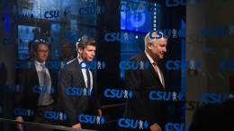 CSU sitzt Personalfragen aus