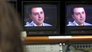 Giuseppe Salvatore Riina bei seinem Fernsehinterview im April 2016