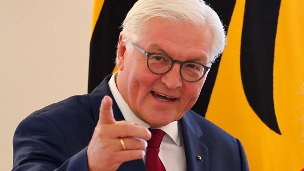 Bundespräsident Steinmeier ab sofort auf Instagram