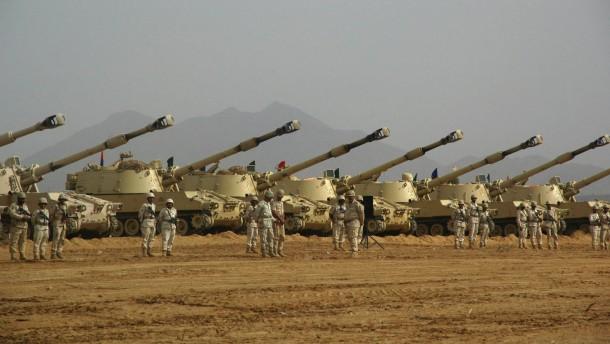 Chinesen, Russen und Saudis rüsten am schnellsten auf