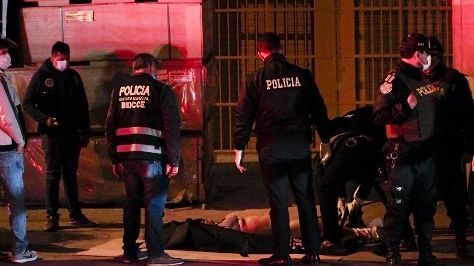 Mehrere Tote nach Massenpanik in Peru