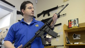 Gun shop in wake of Connecticut school shooting